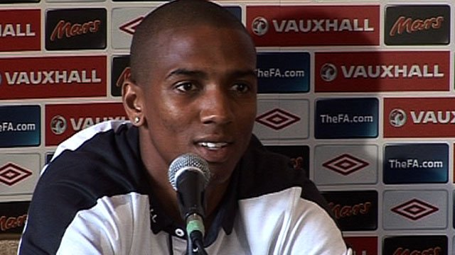 England's & Man Utd's Ashley Young
