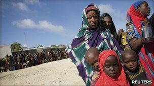 A Somali family