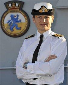 Lt Cmmder Sarah West