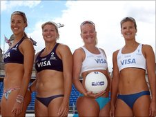 Denise Johns, Lucy Boulton, Shauna Mullin and Zara Dampney