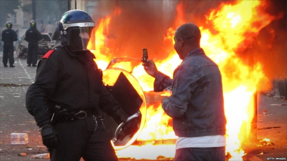 Causes of the london riots