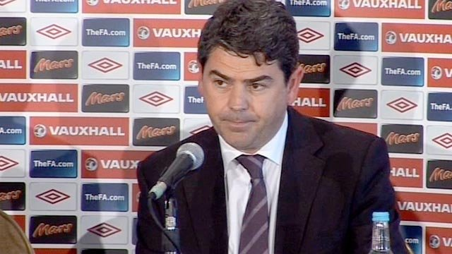 Adrian Bevington, managing director of Club England