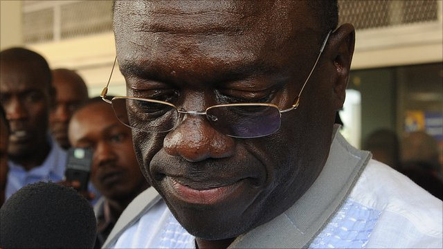 Uganda's opposition leader Kizza Besigye in May 2011