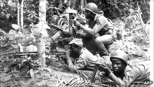 Biafran soldiers, 1967