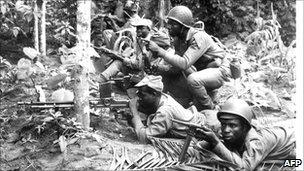 Biafran soldiers, 1967