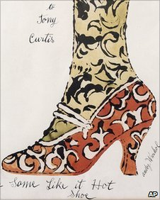 Andy Warhol's Some Like It Hot Shoe