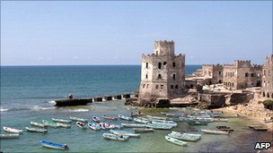 Old port of Mogadishu