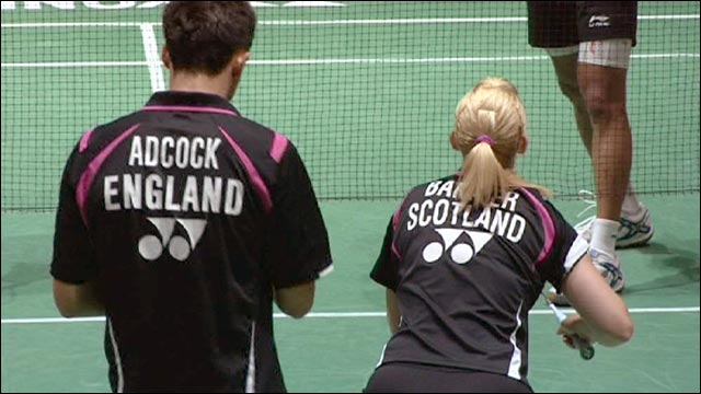 British pair Imogen Bankier and Chris Adcock