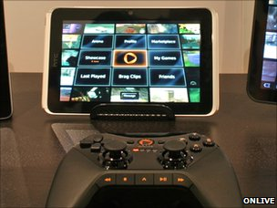 Onlive running on tablet device