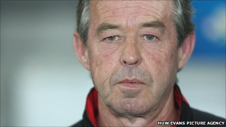 Wales Under-21 coach Brian Flynn