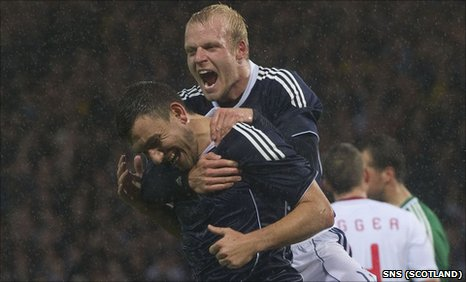 Steven Naismith and Robert Snodgrass