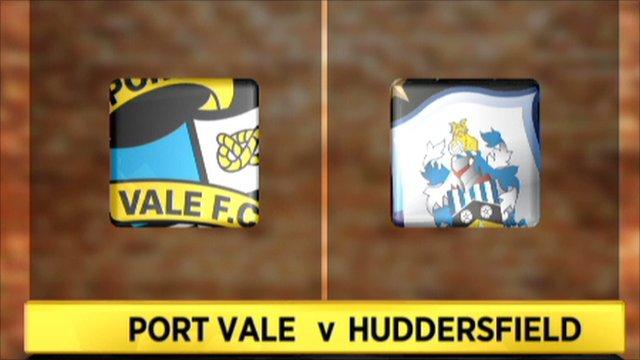 Port Vale 2-4 Huddersfield