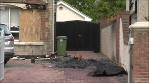 Paul O'Brien house arson attack