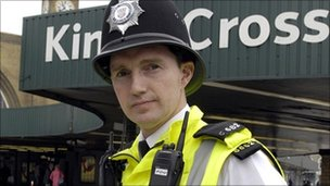 David Davies is a special constable with the British Transport Police