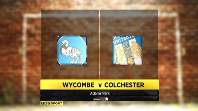 Wycombe v Colchester