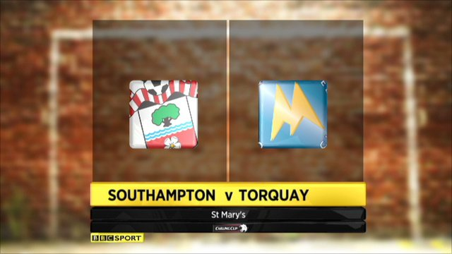 Southampton 4-1 Torquay