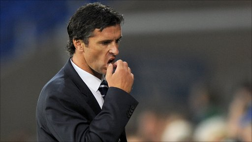 Wales manager Gary Speed