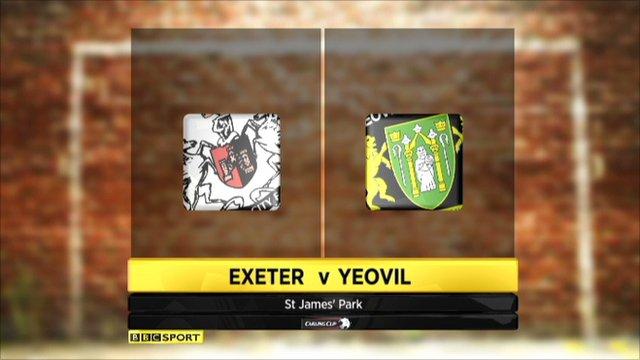 Exeter 2-0 Yeovil