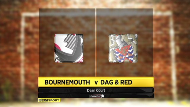 Bournemouth 5-0 Dag & Red