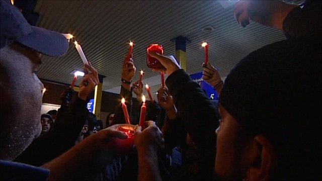 Birmingham vigil