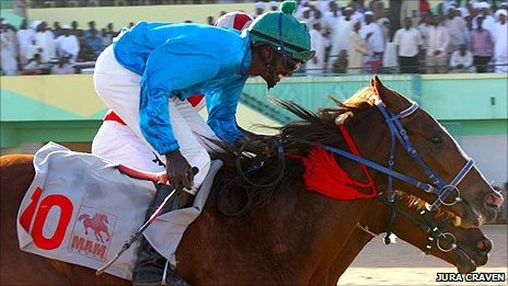 Horse racing at the Sudanese Derby