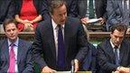 David Cameron gives statement