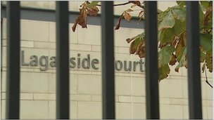 The man appeared at Belfast Magistrates Court