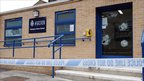Rioters targeted Meadows police station in Nottingham during Tuesday night's violence