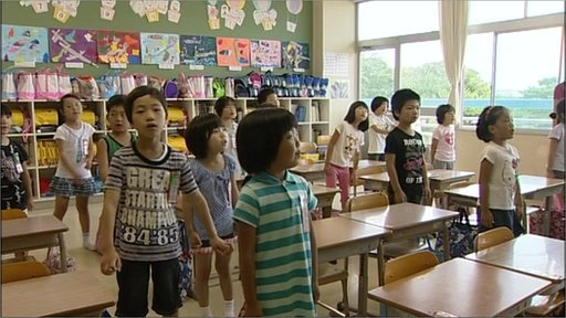 Primary school children in Japan