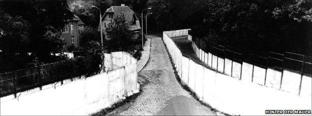 Berlin Wall corridor