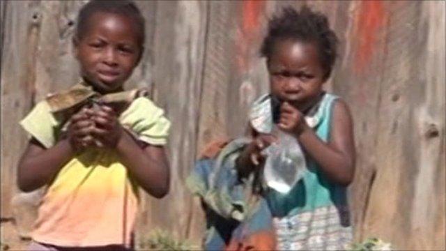 2 girls in Zambia
