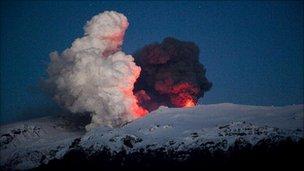 Eruption of Eyjafjallajokull (Getty Images)