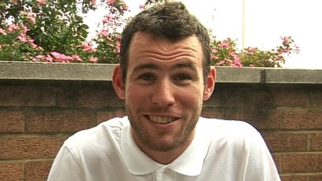 Cyclist Mark Cavendish tells Newsround what he was like when he was 10