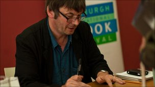 Ian Rankin is a book festival favourite