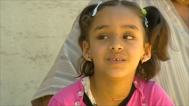6-year-old girl from Misrata