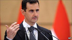 Syria President Bashar al-Assad (file image)