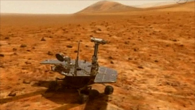 footage of mars rover landing - photo #41