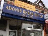 Siop Kebeb Adonis yng Nghaerdydd