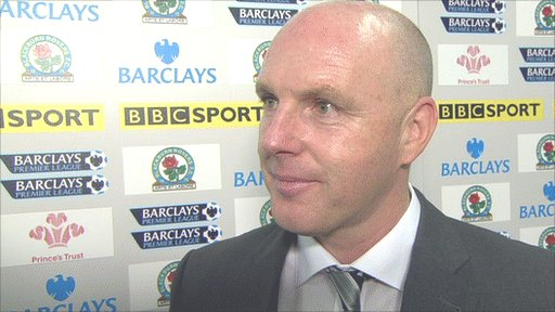 Steve Kean - Blackburn manager