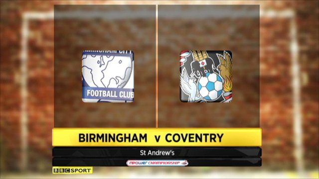 Highlights: Birmingham 1-0 Coventry