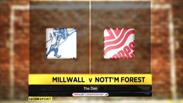 Millwall 2-0 Nottm Forest