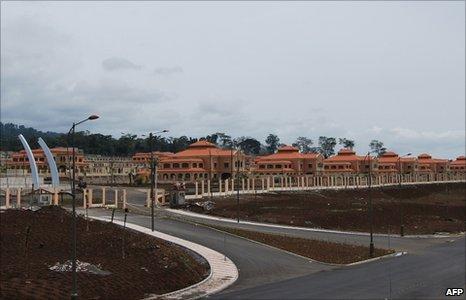 A hotel complex near Malabo, Equatorial Guinea