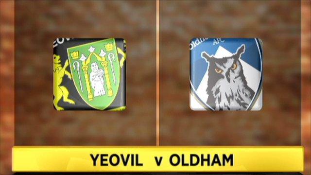 Yeovil 3-1 Oldham