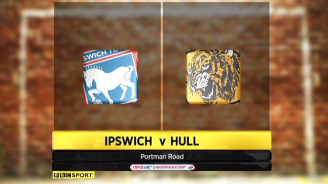 Ipswich 0-1 Hull
