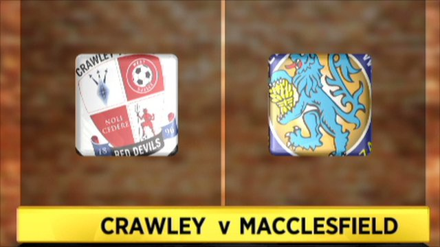 Crawley Town 2-0 Macclesfield