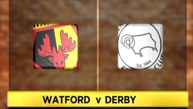 Watford 0-1 Derby