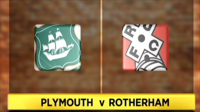 Plymouth 1-4 Rotherham