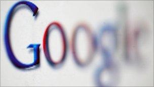 Google logo, PA
