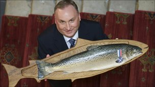 Stewart McLelland, chief operating officer of The Scottish Salmon Company