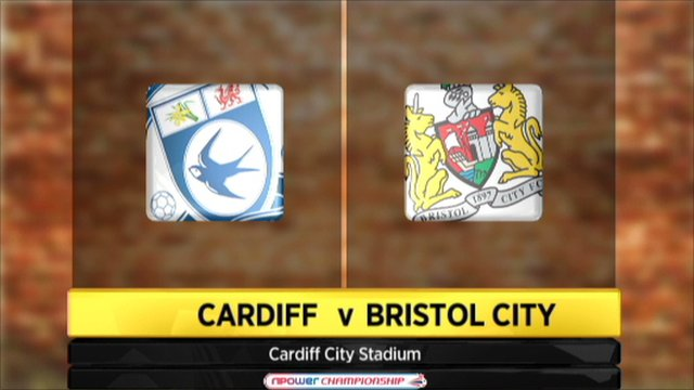 Cardiff 3-1 Bristol City